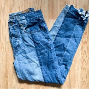 American Eagle Two Toned Jeans